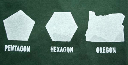 Pantagon Hexagon Oregon